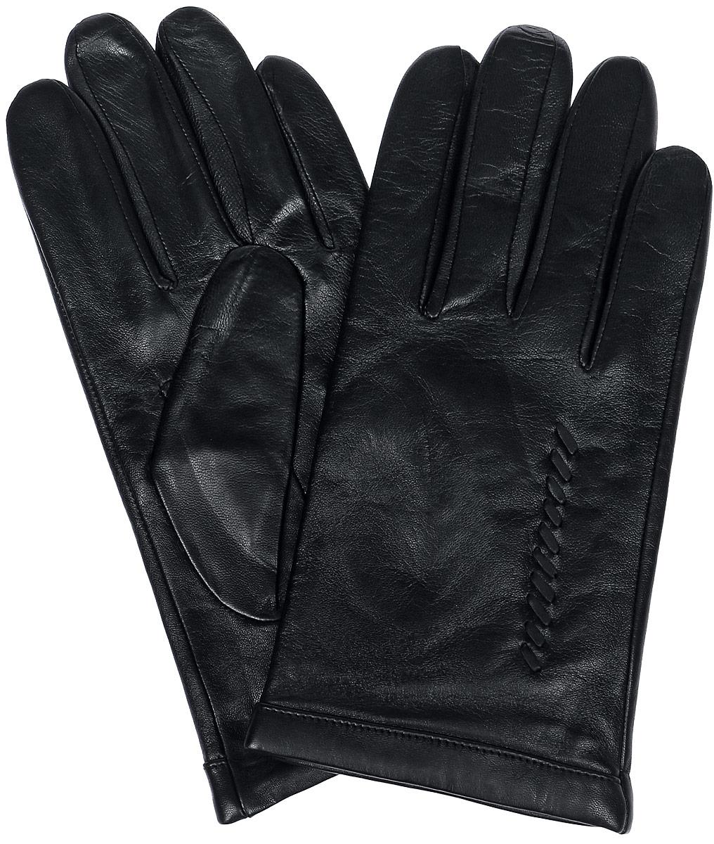 ПерчаткиLB-5475Перчатки Labbra выполнены из натуральной кожи и оформлены декоративными нашивками. Внутренняя поверхность выполнена из шерсти и акрила, которые обеспечат тепло и комфорт.