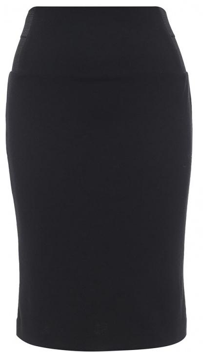 SKk-118/866-7131Эффектная юбка Sela выполнена из высококачественного трикотажа, она обеспечит вам комфорт и удобство при носке. Модель-карандаш с завышенной талией и без застежек дополнена по бокам в поясе эластичными резинками. Оформлена юбка в лаконичном дизайне.