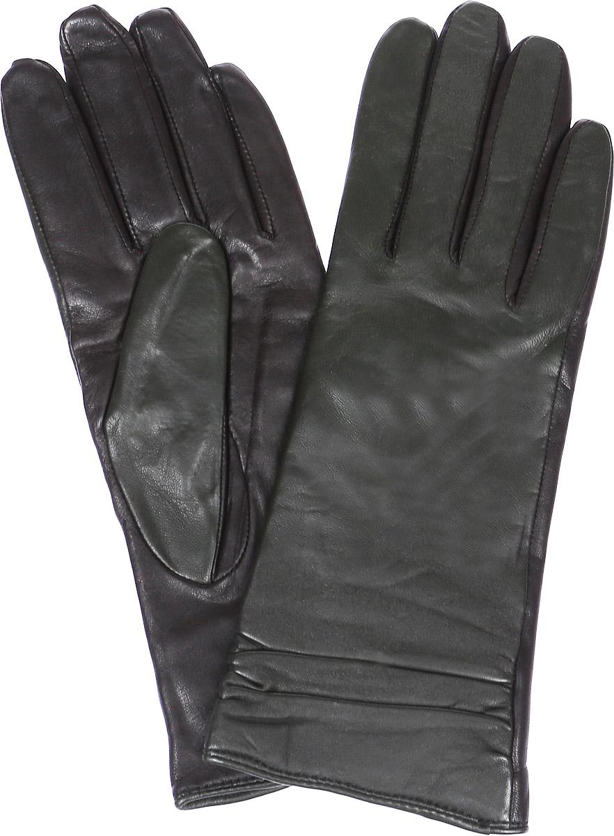 ПерчаткиLB-8338Перчатки женские Labbra выполнены из натуральной кожи комбинированных цветов. Модель оформлена сборкой на запястье. Внутренняя поверхность выполнена из шерсти и акрила, которые обеспечат тепло и комфорт.