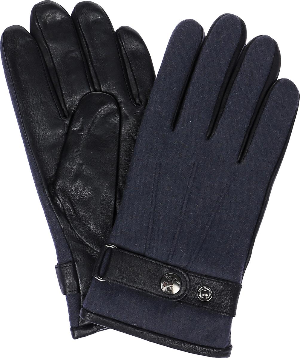 IS909Мужские перчатки Eleganzza выполнены из натуральной гладкой кожи и дополнены сборкой. Модель оснащена ремешком с кнопками, который надежно зафиксирует модель на запястье. Внутренняя поверхность выполнена из шерсти, обеспечивающей тепло и комфорт.