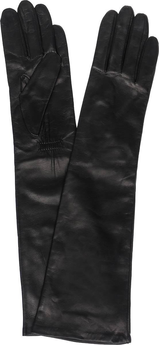 ПерчаткиK81-OPERA/BLЖенские удлиненные перчатки Michel Katana не только защитят ваши руки, но и станут великолепным украшением. Перчатки выполнены из натуральной кожи, а подкладка - из высококачественного шелка.