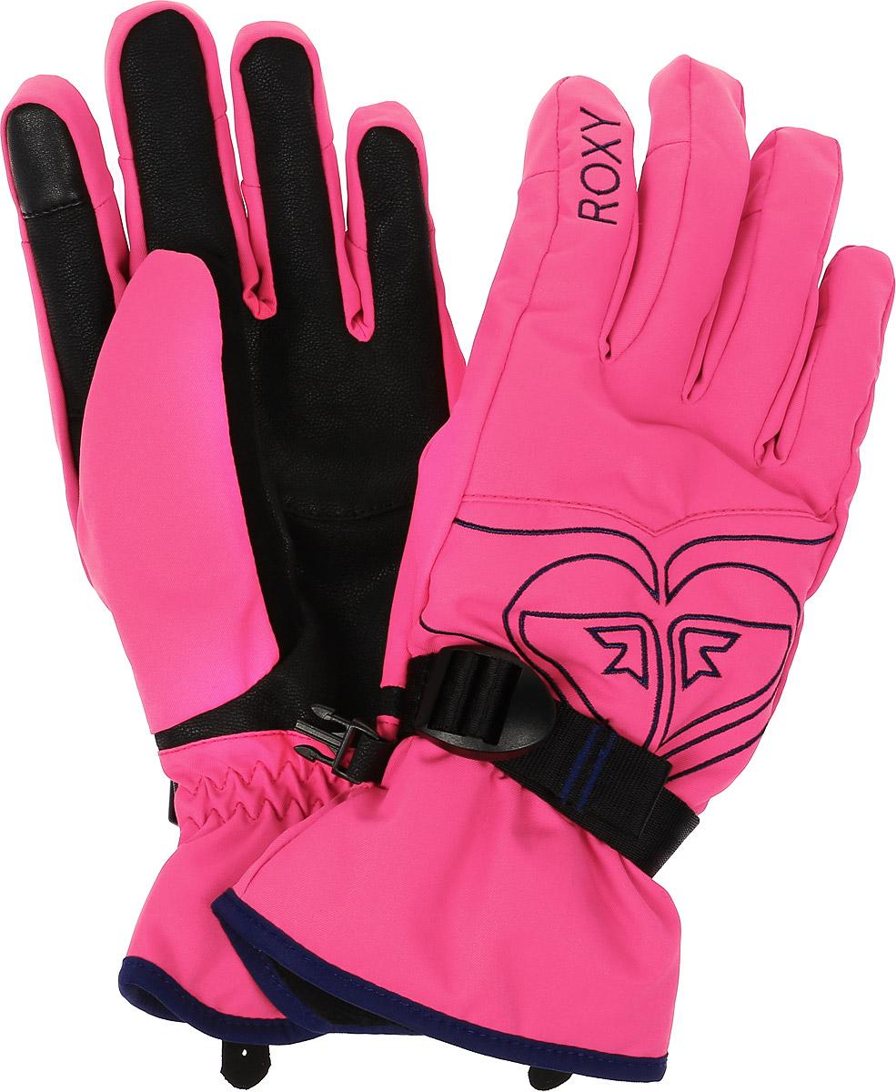 ПерчаткиERJHN03033-BGM0Женские перчатки Roxy Popy Gloves выполнены из высококачественного полиэстера и полиуретана, которые не пропускают воду. Модель оформлена фирменными вышивками и декоративной прострочкой. Перчатки дополнены эластичными резинками и хлястиком с пряжкой, которые надежно зафиксируют модель на запястье, не сдавливая его. Внутренняя поверхность выполнена из мягкого утепленного полиэстера. Также перчатки оснащены застежкой-фастексом.
