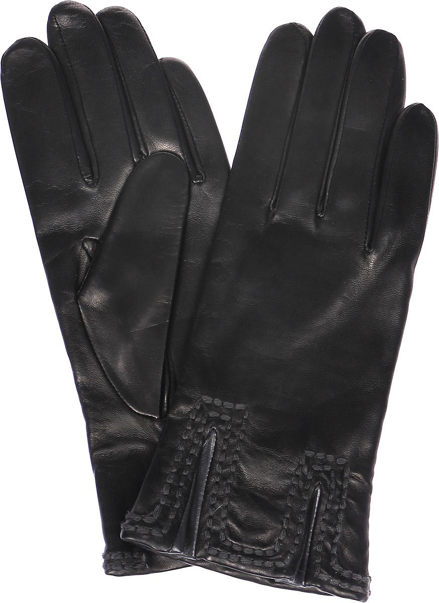 K11-CHAMPE/BL.GRЖенские перчатки Michel Katana не только защитят ваши руки, но и станут великолепным украшением. Перчатки выполнены из натуральной кожи, а подкладка - из высококачественной шерсти. Модель оформлена декоративными прострочками.