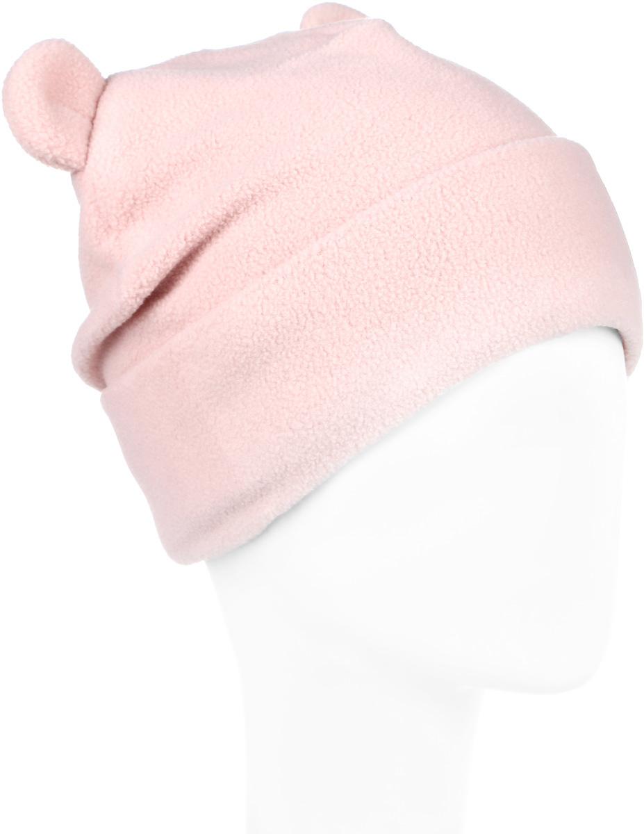 216BBGA73011200Стильная шапка для девочки Button Blue выполнена из 100% полиэстера. Шапка с отворотом декорирована ушками. Уважаемые клиенты! Размер, доступный для заказа, является обхватом головы ребенка.