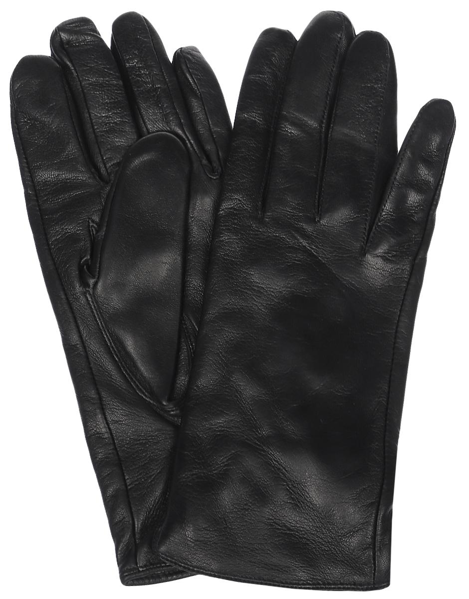 HP68980Мужские перчатки Eleganzza выполнены из натуральной гладкой кожи и дополнены сборкой, которая надежно зафиксирует модель на запястье. Внутренняя поверхность выполнена из шерсти и кашемира, которые обеспечат тепло и комфорт.