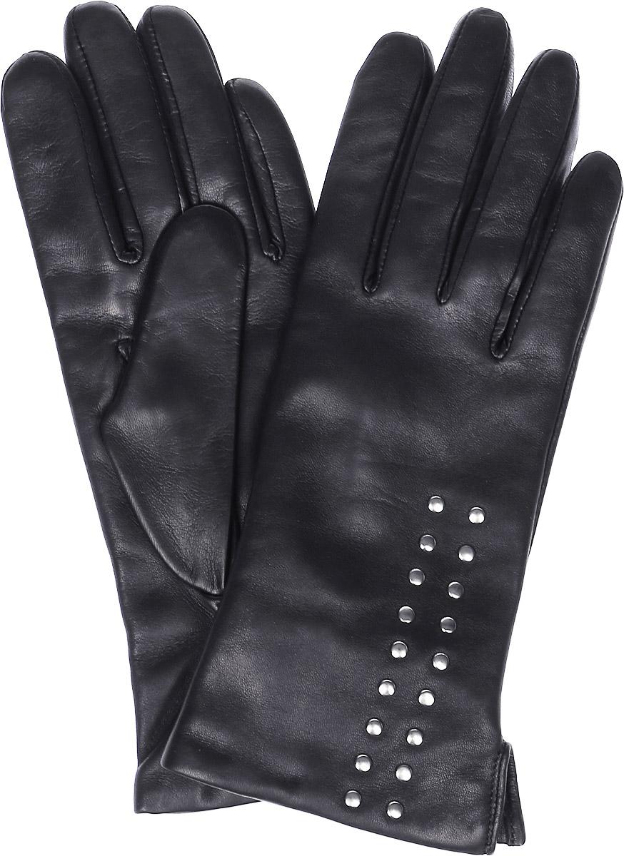 ПерчаткиK11-BOTONY/BLЖенские перчатки Michel Katana не только защитят ваши руки, но и станут великолепным украшением. Перчатки выполнены из натуральной кожи, а подкладка - из высококачественной шерсти. Модель оформлена декоративными кнопками.