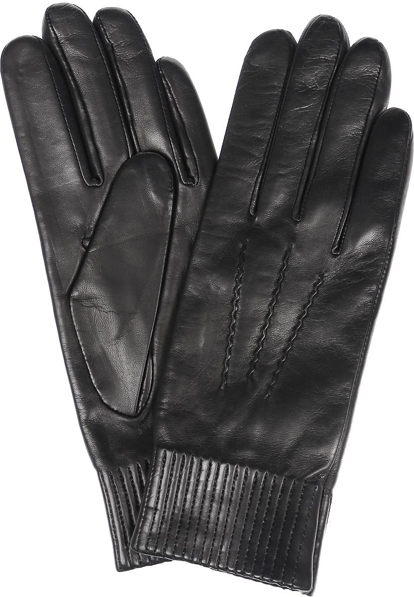 K11-VILIENE/BLЖенские перчатки Michel Katana не только защитят ваши руки, но и станут великолепным украшением. Перчатки выполнены из натуральной кожи, а подкладка - из высококачественной шерсти. Модель оформлена декоративными прострочками.