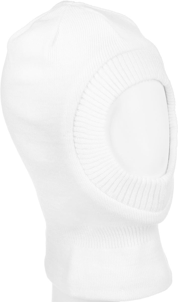 216BBGX73040200Теплая шапка-шлем для девочки Button Blue выполнена из 100% акрила, подкладка выполнена из натурального хлопка. Шейная часть изделия связана резинкой. Уважаемые клиенты! Обращаем ваше внимание на тот факт, что размер, доступный для заказа, является обхватом головы.