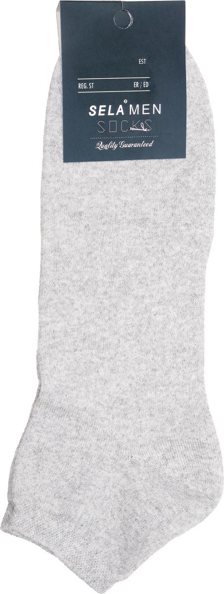 НоскиSOb-254/024-7101Удобные носки Sela, изготовлены из комбинированного материала. Благодаря содержанию мягкого хлопка в составе, кожа сможет дышать, а эластан позволяет носочкам легко тянуться, что делает их комфортными в носке. Эластичная резинка плотно облегает ногу, не сдавливая ее, обеспечивая комфорт и удобство. Уважаемые клиенты! Размер, доступный для заказа, является длиной стопы.