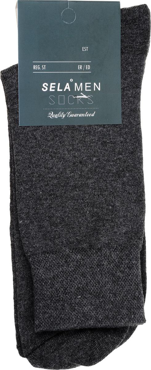 НоскиSOb-254/017-7101Удобные мужские носки Sela, изготовленные из высококачественного материала. Благодаря содержанию мягкого хлопка в составе, кожа сможет дышать, а эластан позволяет носкам легко тянуться, что делает их комфортными в носке. Эластичная резинка на стандартном паголенке плотно облегает ногу, не сдавливая ее, обеспечивая комфорт и удобство. Уважаемые клиенты! Размер, доступный для заказа, является длиной стопы.