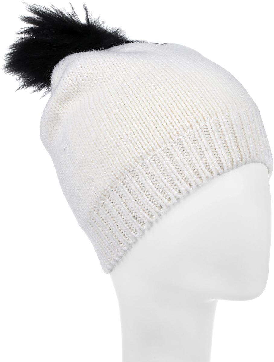 21605GKC7305Шапка для девочки Gulliver выполнена из шерсти с добавлением вискозы и хлопка. Шапка дополнена пушистым помпоном на макушке. Внутри флисовая подкладка. Уважаемые клиенты! Размер, доступный для заказа, является обхватом головы.
