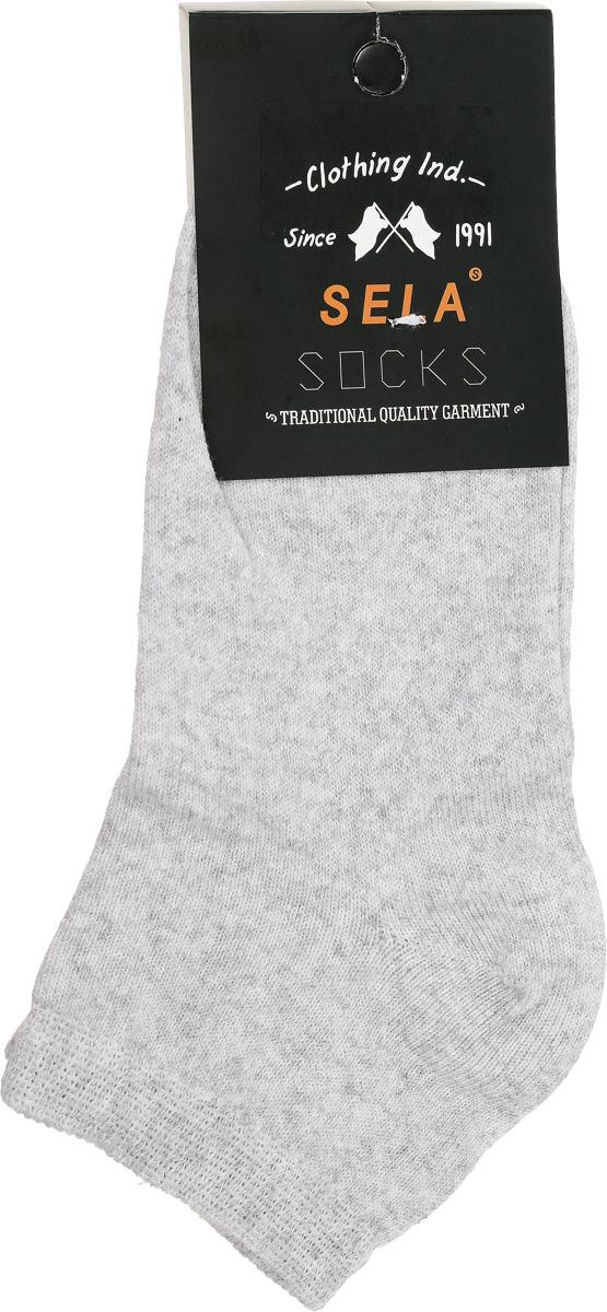 НоскиSOb-7854/014-7102Удобные носочки для мальчика Sela, изготовленные из высококачественного материала. Благодаря содержанию мягкого хлопка в составе, кожа сможет дышать, а эластан позволяет носкам легко тянуться, что делает их комфортными в носке. Эластичная резинка плотно облегает ногу, не сдавливая ее, обеспечивая комфорт и удобство. Уважаемые клиенты! Размер, доступный для заказа, является длиной стопы.