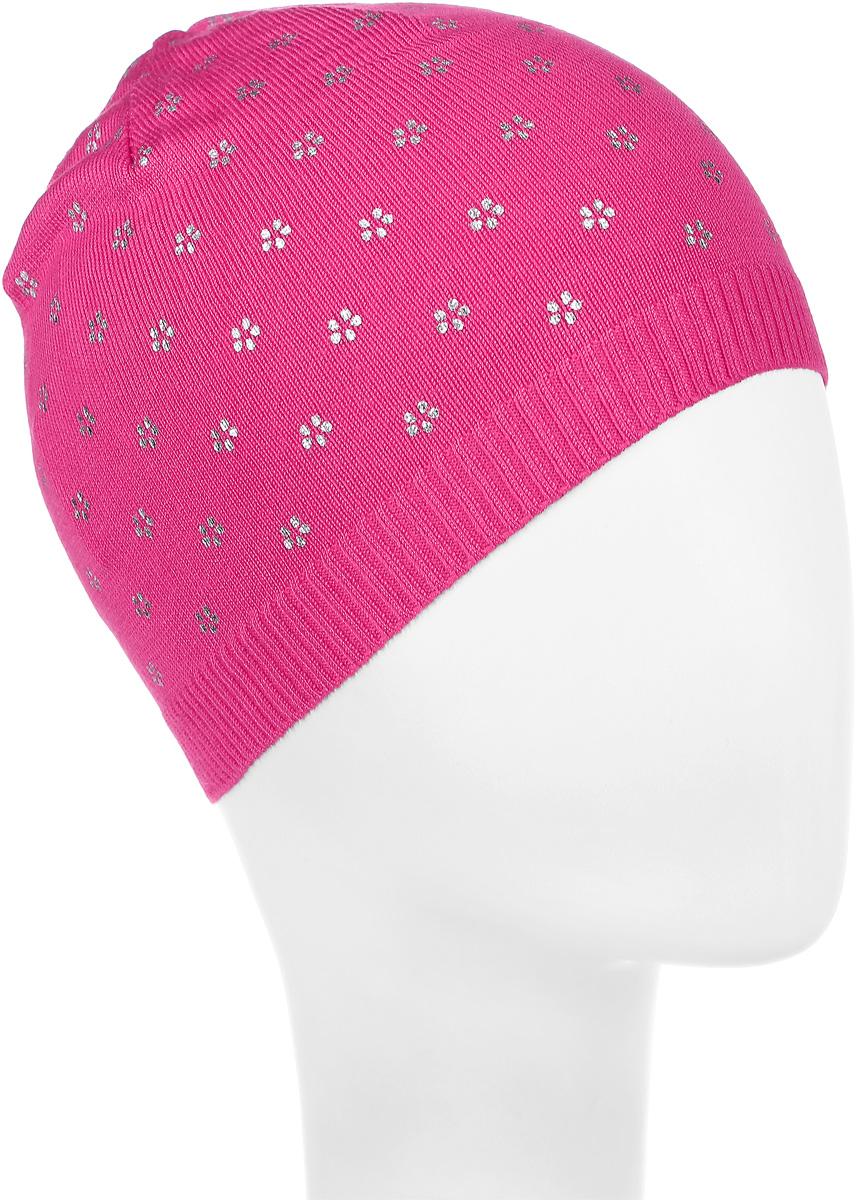 Шапка детская116BBGB7306Стильная теплая шапка для девочки Button Blue идеально подойдет для прогулок и активных игр в прохладное время года. Шапка выполнена из вискозы с добавлением нейлона, она невероятно мягкая и приятная на ощупь, великолепно тянется и удобно сидит. Такая шапочка великолепно дополнит любой наряд. Шапка украшена принтом в мелкий цветочек. Удобная шапка станет модным и стильным дополнением гардероба вашей маленькой принцессы, надежно защитит ее от холода и ветра, и поднимет ей настроение даже в пасмурные дни! Уважаемые клиенты! Размер, доступный для заказа, является обхватом головы.