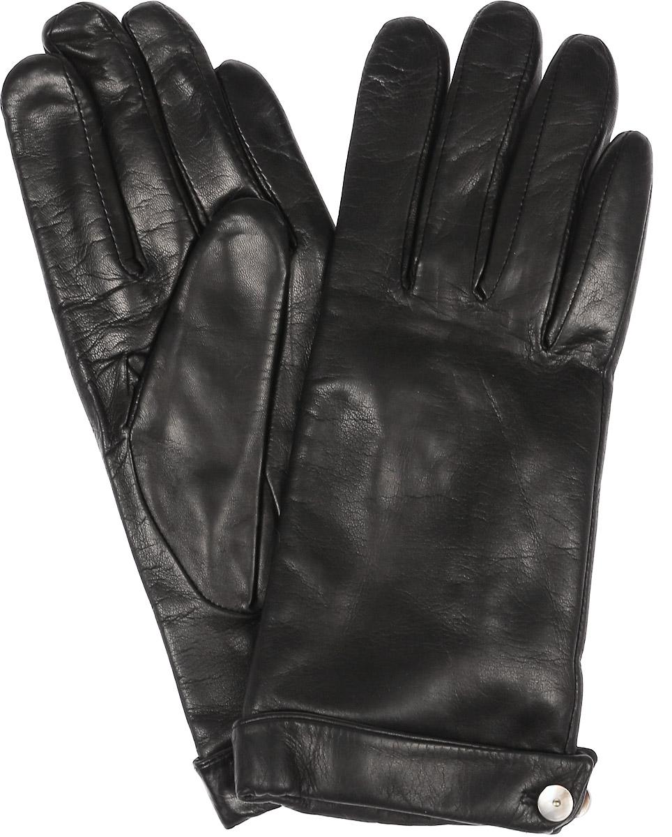 Перчатки11_CAMICE/BLСтильные женские перчатки Dali Exclusive не только защитят ваши руки, но и станут великолепным украшением. Перчатки выполнены из натуральной кожи, а их подкладка - из высококачественной шерсти. Модель дополнена на запястье пуговицей.