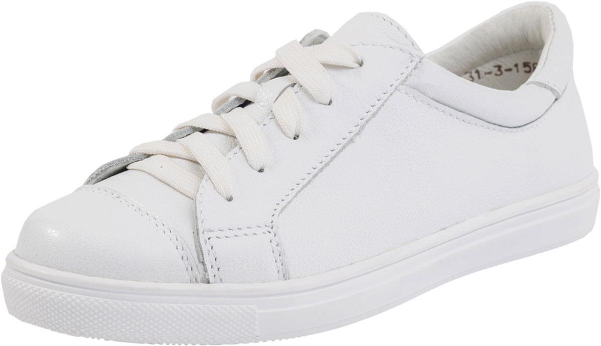 632221-21Полуботинки полностью выполнены из натуральной кожи. Кожаная подкладка абсорбирует образующуюся внутри обуви влагу и гарантирует полный комфорт. Подошва модели клеевая. Мягкий манжет создает комфорт при ходьбе и предотвращает натирание. Обувь фиксируется на стопе при помощи шнурков.
