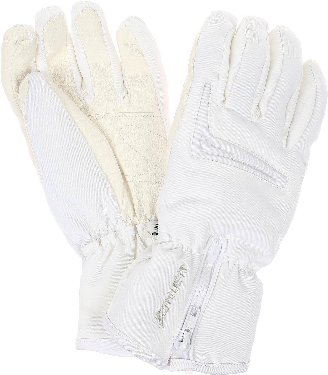 26032Горнолыжные перчатки женские REITH.ZX DA Перчатки предназначены для занятий активными видами спорта и для носки в городе в холодную погоду. - Анатомический крой - Усиление большого пальца - Резинка по запястью - Регулировка по манжету на молнии - Мембрана обеспечивает защиту от намокания, отведение влаги и сохраняет руки сухими и теплыми во время занятий спортом Австрийская компания ZANIER производит аксессуары для активных видов спорта более 30 лет и на сегодняшний день является лидером продаж на Австрийском рынке и входит в четверку сильнейших производителей Европы. Перчатки ZANIER надежны, разработаны и протестированы в горах профессиональными спортсменами. Компания является официальным поставщиком сборной команды Австрии по сноуборду.