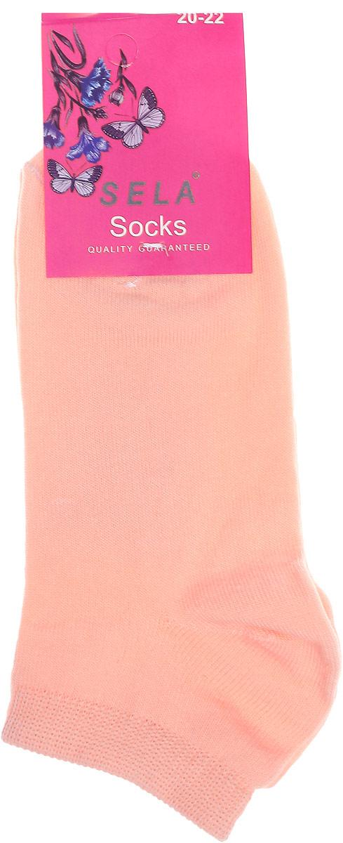 НоскиSOb-4/070-7102Удобные детские носки Sela, изготовлены из комбинированного материала. Благодаря содержанию мягкого хлопка в составе, кожа сможет дышать, а эластан позволяет носочкам легко тянуться, что делает их комфортными в носке. Эластичная резинка плотно облегает ногу, не сдавливая ее, обеспечивая комфорт и удобство. Уважаемые клиенты! Размер, доступный для заказа, является длиной стопы.