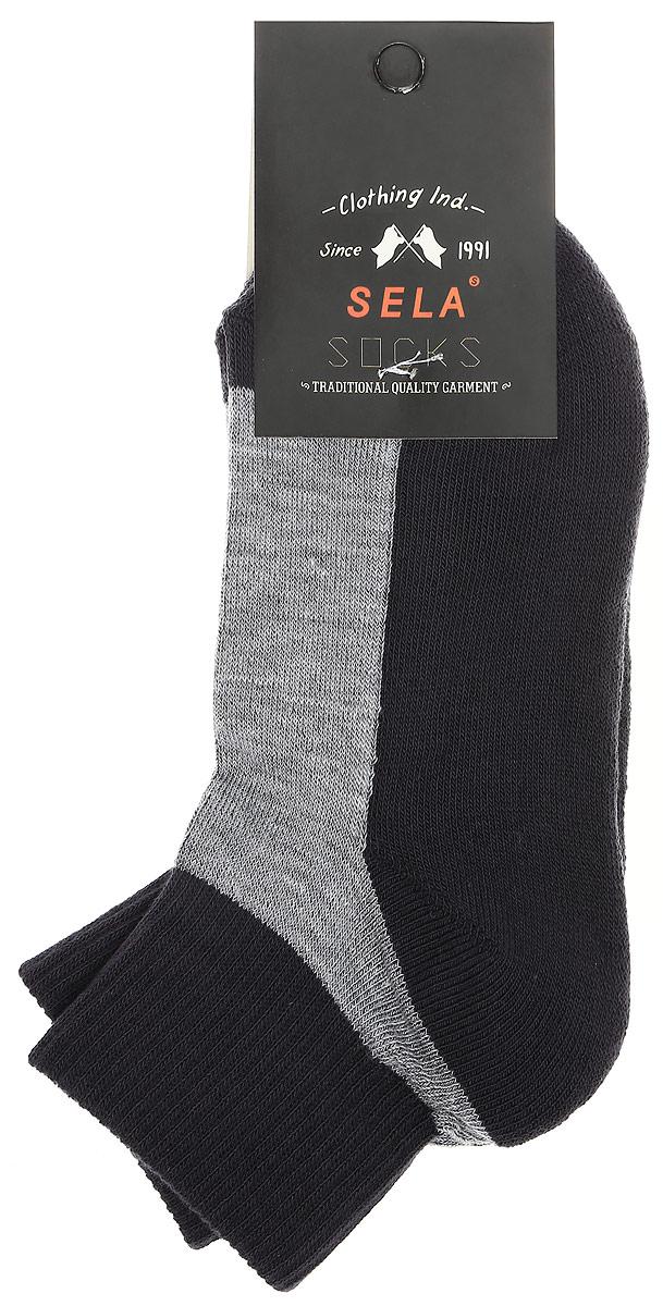 SOb-7854/016-7100Удобные детские носки Sela, изготовленные из высококачественного комбинированного материала. Благодаря содержанию мягкого хлопка в составе, кожа сможет дышать, а эластан позволяет носочкам легко тянуться, что делает их комфортными в носке. Эластичная резинка плотно облегает ногу, не сдавливая ее, обеспечивая комфорт и удобство. Уважаемые клиенты! Размер, доступный для заказа, является длиной стопы.