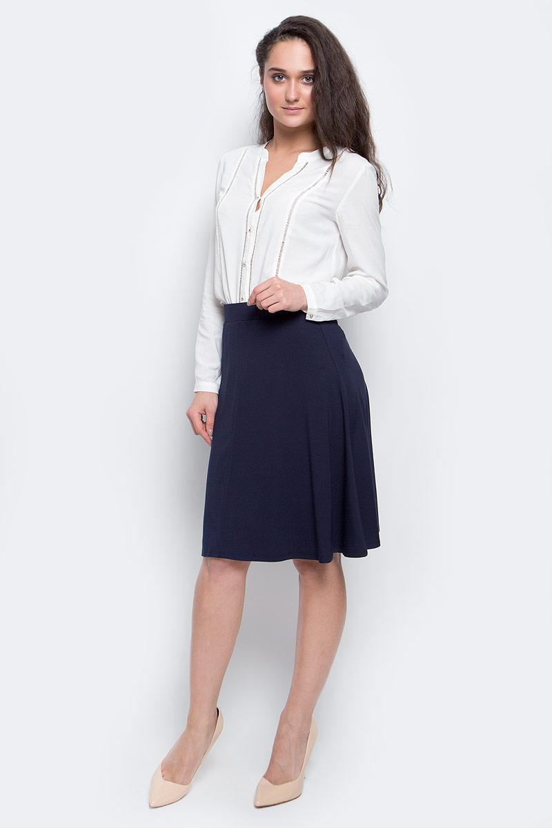 ЮбкаSKk-118/869-7131Стильная женская юбка Sela длины-миди выполнена из качественной эластичной вискозы. На талии юбка дополнена широкой трикотажной резинкой.