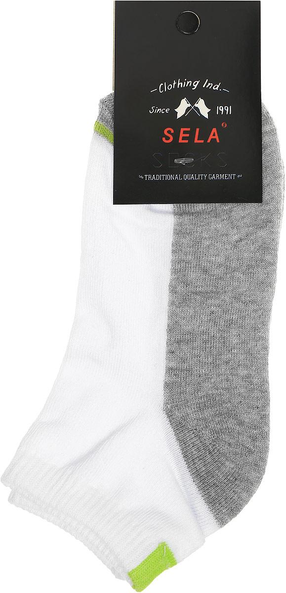 НоскиSOb-7854/034-7102Удобные детские носки Sela, изготовлены из комбинированного материала. Благодаря содержанию мягкого хлопка в составе, кожа сможет дышать, а эластан позволяет носочкам легко тянуться, что делает их комфортными в носке. Эластичная резинка плотно облегает ногу, не сдавливая ее, обеспечивая комфорт и удобство. Уважаемые клиенты! Размер, доступный для заказа, является длиной стопы.