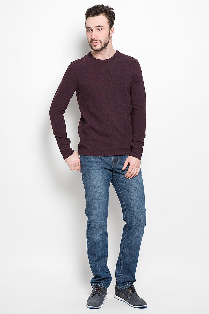 Пуловер16051696_FudgeМужской пуловер Selected Homme изготовлен из хлопка с добавлением эластана. Модель с длинными рукавами имеет круглый вырез горловины. Благодаря однотонной расцветке, пуловер прекрасно сочетается с любыми нарядами.