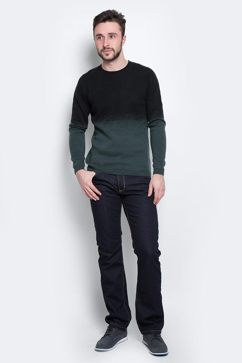 Джемпер3020271.00.15_2999Стильный мужской джемпер Tom Tailor, выполненный из высококачественного материала, приятный на ощупь, не сковывает движения, обеспечивая наибольший комфорт. Модель с круглым вырезом горловины и длинными рукавами идеально гармонирует с любыми предметами одежды и будет уместна и на отдых, и работу. Низ и манжеты изделия связаны мелкой резинкой, что предотвращает деформацию при носке и препятствует проникновению холодного воздуха. Этот модный джемпер станет отличным дополнением вашего гардероба.
