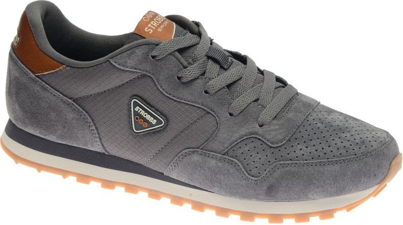 КроссовкиC2424-1Стильные мужские кроссовки Strobbs отлично подойдут для активного отдыха и повседневной носки. Верх модели выполнен из текстиля и замши. Удобная шнуровка надежно фиксирует модель на стопе. Подошва обеспечивает легкость и естественную свободу движений. Мягкие и удобные, кроссовки превосходно подчеркнут ваш спортивный образ и подарят комфорт.