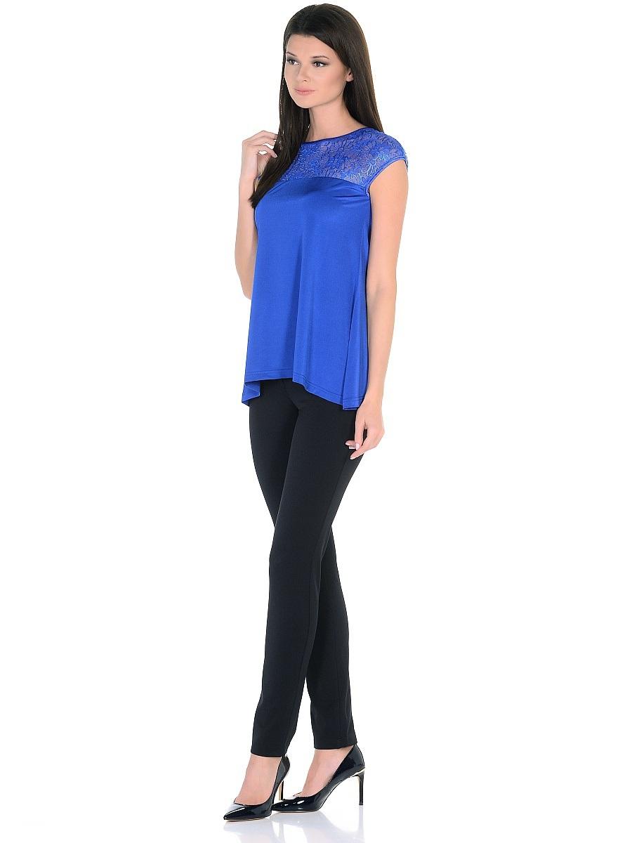 Блузка171206Стильная блузка Milana Style выполнена из качественного полиэстера. Модель свободного покроя с круглым вырезом горловины и короткими цельнокроеными рукавами. Верх блузки оформлен прозрачным кружевом, а по бокам изделие немного удлиненное. Такая блузка поможет создать вам яркий и привлекательный образ.