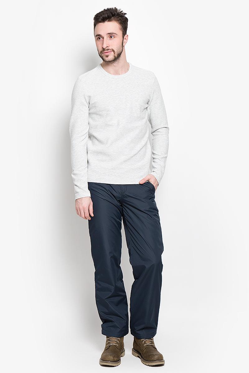 16051696_Light Grey MelangeМужской пуловер Selected Homme изготовлен из хлопка с добавлением вискозы и эластана. Модель с длинными рукавами имеет круглый вырез горловины. Благодаря однотонной расцветке, пуловер прекрасно сочетается с любыми нарядами.