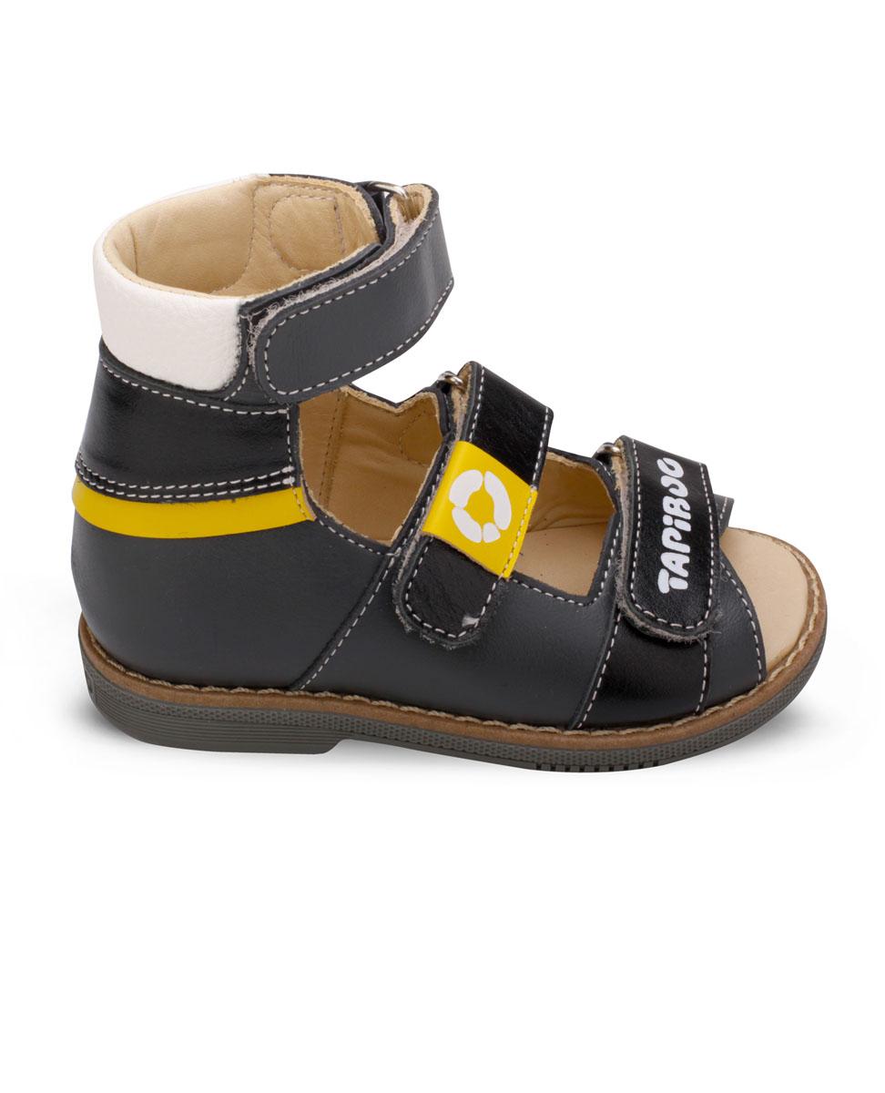 СандалииFT-26005.17-OL12O.01Эти ортопедические сандалии разработаны для коррекции стоп при вальгусной деформации, а также для профилактики плоскостопия. Применение данной модели рекомендовано детям при наличии сформировавшихся деформаций. При применении данной обуви рекомендуется использование индивидуальных ортопедических стелек по назначению врача-ортопеда. Жесткий фиксирующий задник увеличенной высоты и возможность регулировки полноты тремя застежками велкро обеспечивают необходимую фиксацию голеностопа в правильном положении. Широкий, устойчивый каблук, специальной конфигурации каблук Томаса. Каблук продлен с внутренней стороны до середины стопы, предотвращает вращение (заваливание) стопы вовнутрь (пронационный компонент деформации, так называемая косолапость, или вальгусная деформация). Подкладка из кожи теленка без швов. Кожа теленка обладает повышенной износостойкостью в сочетании с мягкостью и отличной способностью пропускать воздух для создания оптимального температурного режима (нога не потеет)....