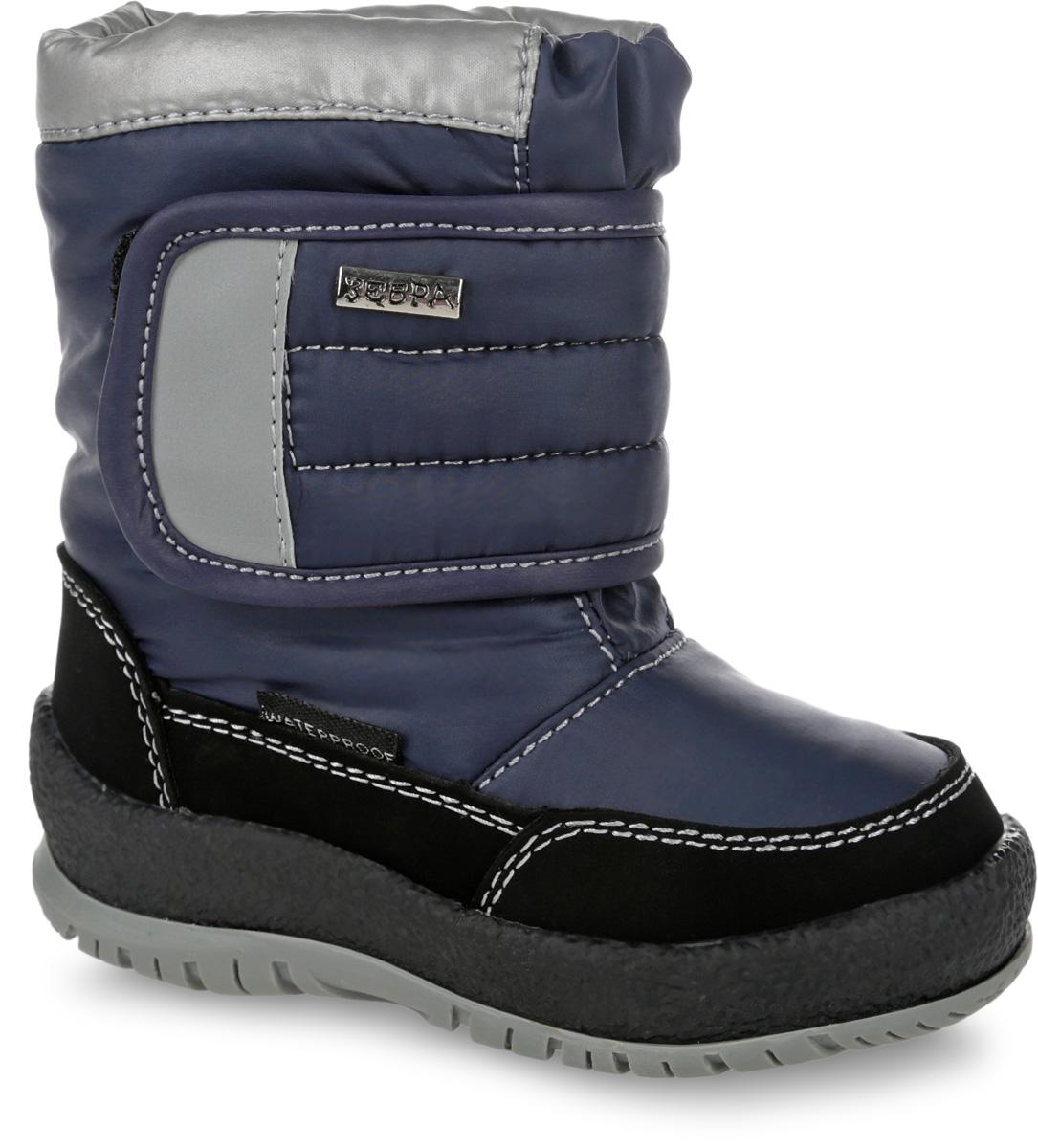11011-1Полусапоги от Зебра выполнены из искусственной кожи и текстиля. Застежка-липучка надежно фиксируют изделие на ноге. Мягкая подкладка и стелька из шерсти обеспечивают тепло, циркуляцию воздуха и сохраняют комфортный микроклимат в обуви. Подошва оснащена рифлением.