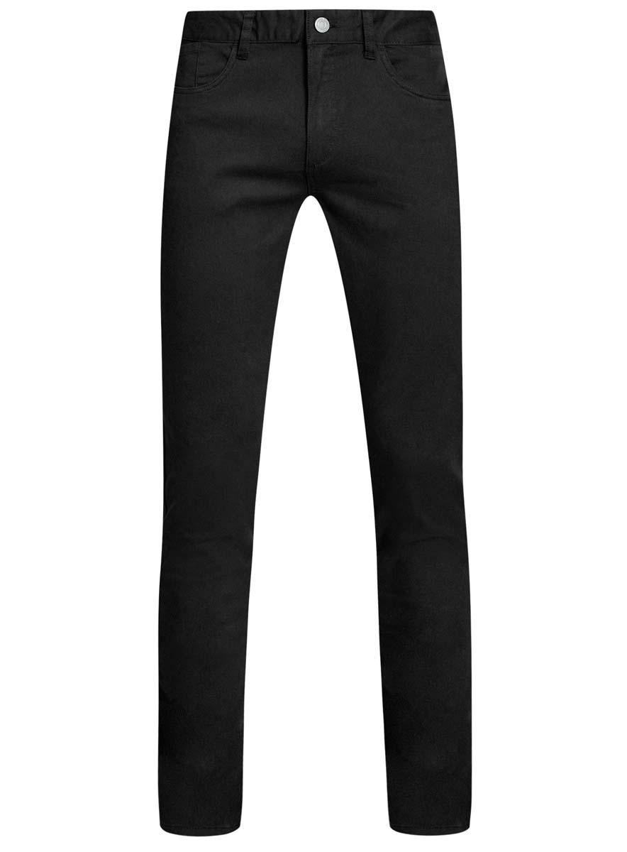 Брюки2B120007M/39622N/2900NСтильные мужские брюки oodji Basic изготовлены из высококачественного материала. Модель на талии застегивается на металлическую пуговицу, а также имеют ширинку на застежке-молнии и шлевки для ремня. Спереди модель дополнена двумя втачными карманами и одним небольшим накладным кармашком, а сзади - двумя большими накладными карманами. Эти модные и в тоже время удобные брюки помогут вам создать оригинальный современный образ.