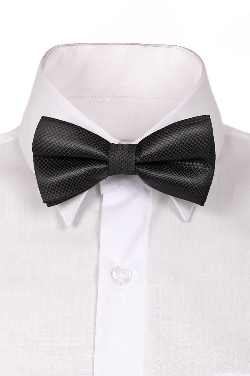 BBAB12-12Модный галстук-бабочка для мальчика Brostem изготовлен из полиэстера. Галстук-бабочка дополнен регулируемой лентой с пластиковой застежкой-защелкой.