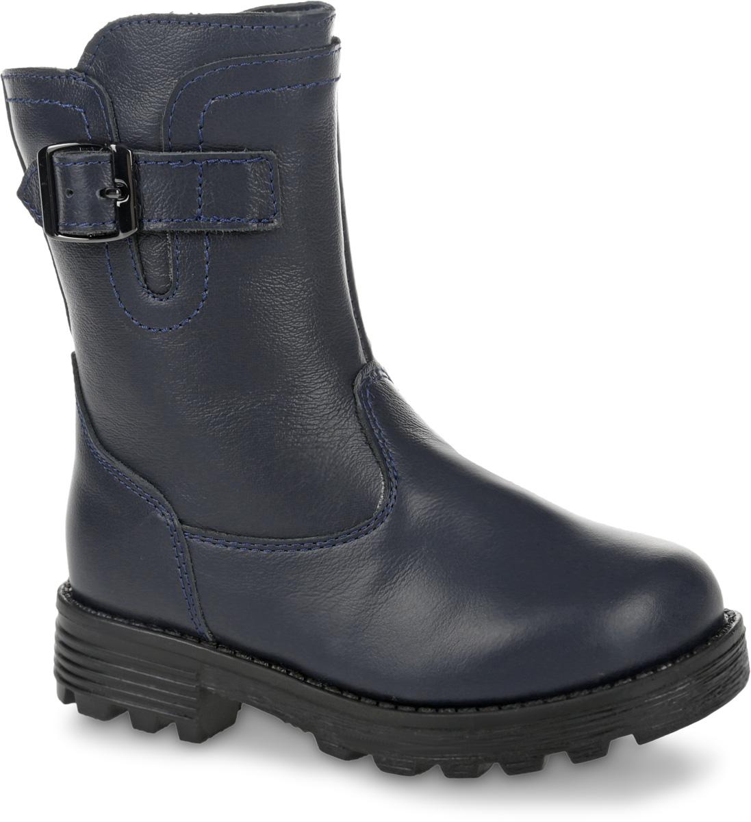 11195-1Теплые полусапоги от Зебра выполнены из натуральной кожи и оформлены декоративным ремешком. Застежка-молния надежно фиксирует изделие на ноге. Мягкая подкладка и стелька из натурального меха обеспечивают тепло, циркуляцию воздуха и сохраняют комфортный микроклимат в обуви. Подошва с рифлением гарантирует идеальное сцепление с любыми поверхностями.
