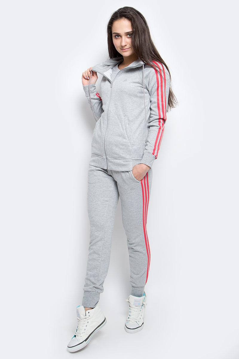 ТолстовкаAY4803ТОЛСТОВКА ESSENTIALS 3-STRIPES. В этой уютной женской толстовке тебе будет тепло и комфортно. Модель выполнена из отводящей влагу ткани, которая сохраняет ощущение свежести до конца тренировки.