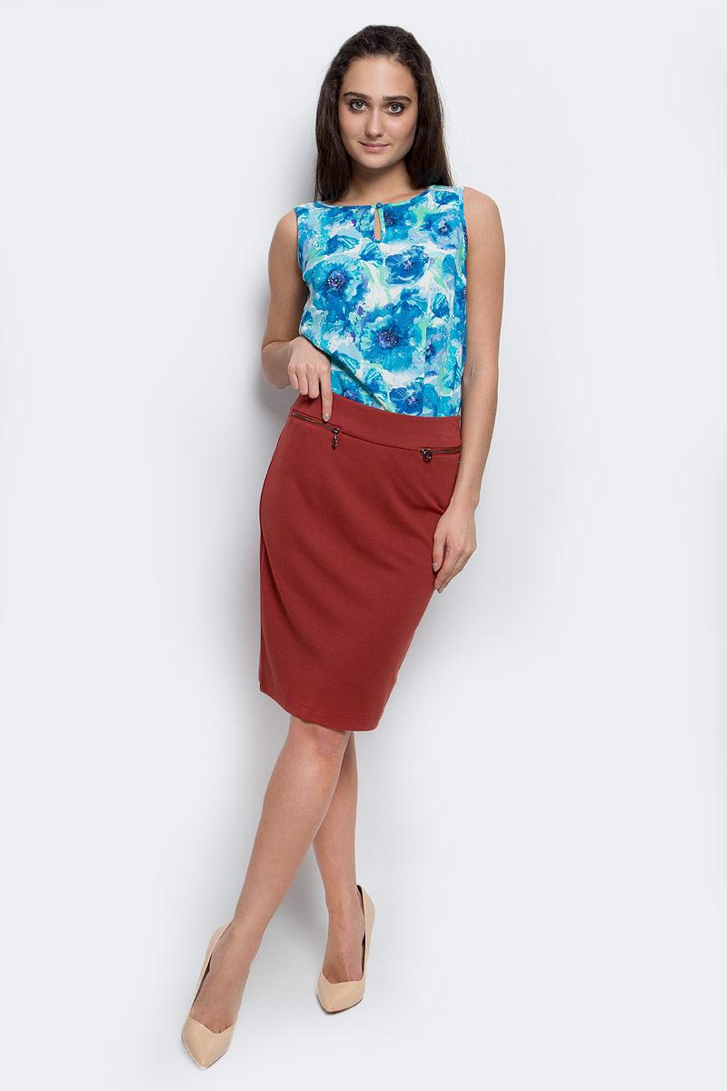 ЮбкаB17-12040_618Эффектная юбка Finn Flare выполнена из вискозы с добавлением нейлона и эластана. Элегантная юбка застегивается на застежку-молнию и имеет шлицу сзади. Спереди модель дополнена прорезными кармашками на застежках-молниях.