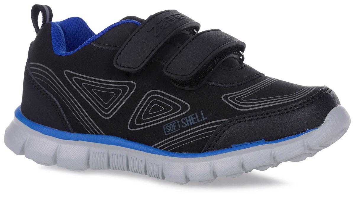 10961-1Стильные и удобные кроссовки от Зебра выполнены из текстиля и искусственной кожи. Два ремешка на застежках-липучках надежно фиксируют изделие на ноге. Стелька из натуральной кожи дополнена супинатором.