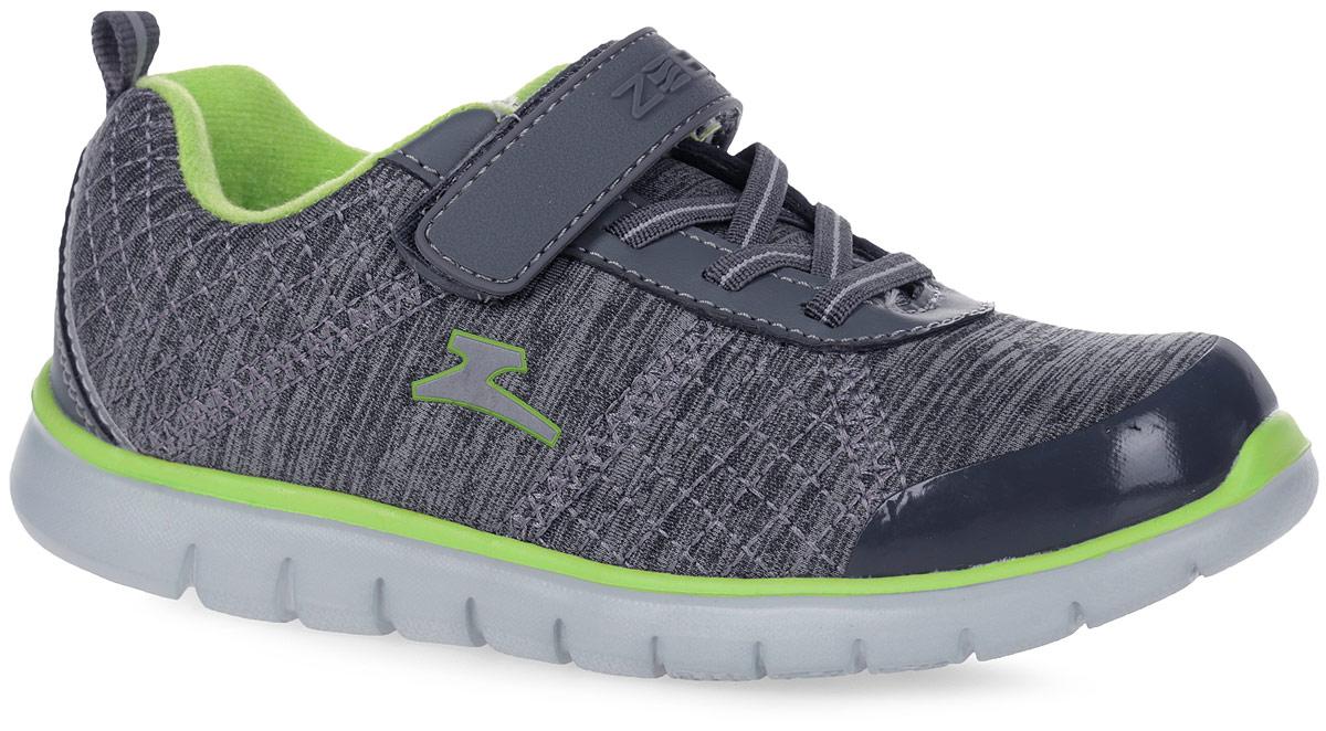 10909-5Кроссовки от фирмы Зебра выполнены из дышащего текстиля. Классическая шнуровка и застежка-липучка обеспечивают надежную фиксацию обуви на ноге ребенка. Подкладка выполнена из текстиля, что предотвращает натирание и гарантирует уют. Стелька с поверхностью из натуральной кожи оснащена небольшим супинатором с перфорацией, который обеспечивает правильное положение ноги ребенка при ходьбе и предотвращает плоскостопие. Подошва с рифлением обеспечивает идеальное сцепление с любыми поверхностями.