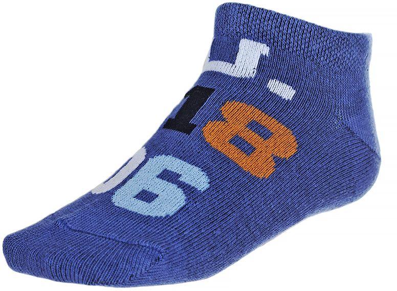 Носки135912-1Носки для мальчика Baykar изготовлены из высококачественного эластичного хлопка с добавлением полиамида. Укороченные носки имеют эластичную резинку, которая надежно фиксирует носки на ноге. Носки дополнены принтом с цифрами. В комплект входит 2 пары носков.