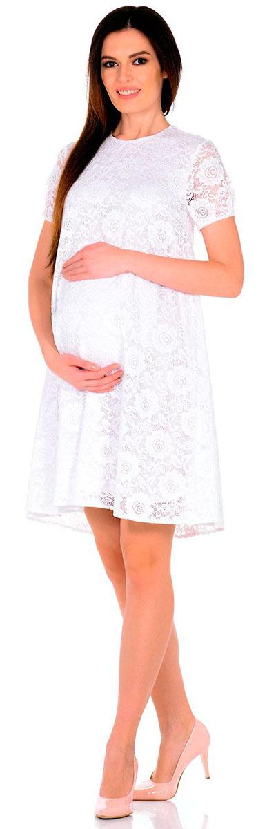 Платье2142.01 N.V.Платье Nuova Vita выполнено из вискозы, полиэстера и лайкры. Модель с круглым вырезом горловины застегивается на пуговицу.