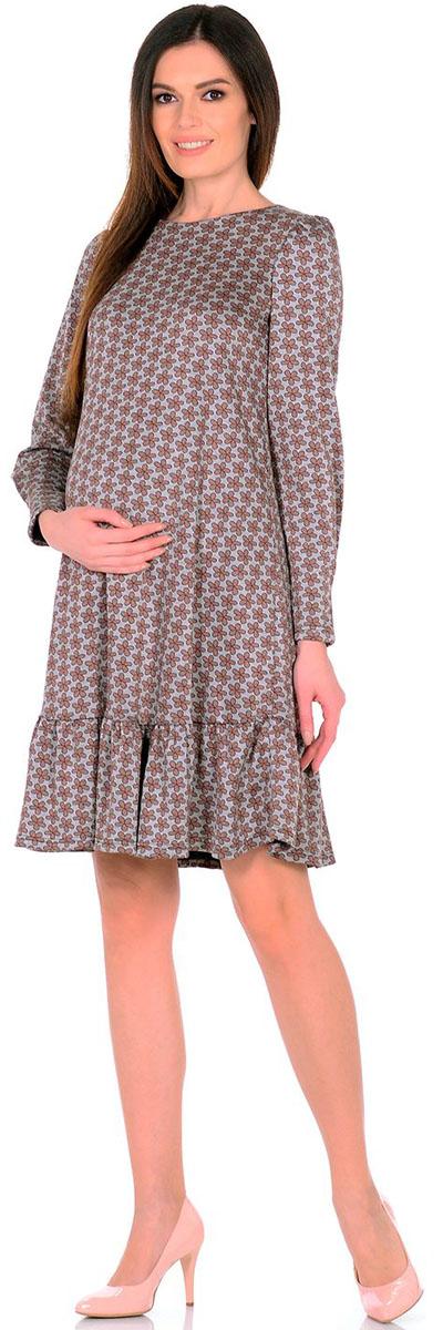 Платье2154.02 N.V.Платье Nuova Vita выполнено из вискозы, полиэстера и лайкры. Модель с круглым вырезом горловины застегивается на пуговицу.