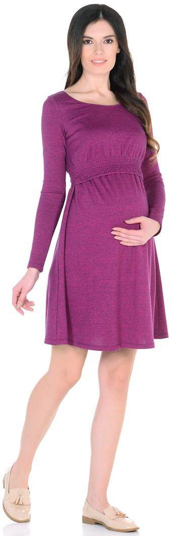 Платье6630522175Платье приталенного силуэта, с расклешенной юбкой, выше колен. Вырез горловины овальный. Низ лифа стянут на нитке- резинке. Рукава длинные.