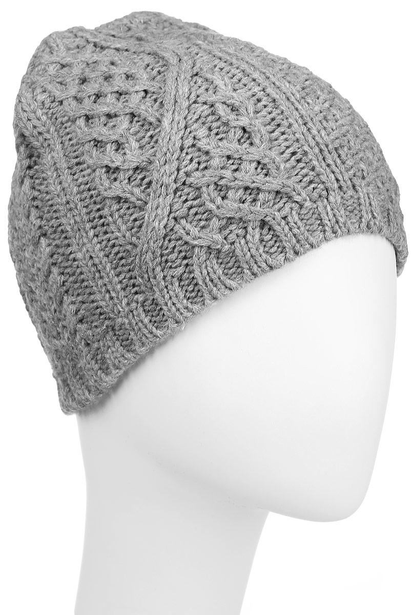 Шапка303301Стильная шапка Ignite отлично дополнит ваш образ в холодную погоду. Модель крупной фактурной вязки, выполненная из 100%-го акрила, прекрасно сохраняет тепло .Такая модель комфортна и приятна на ощупь, она великолепно подчеркнет ваш вкус. Теплая шапка Ignite станет отличным дополнением к вашему осеннему или зимнему гардеробу!