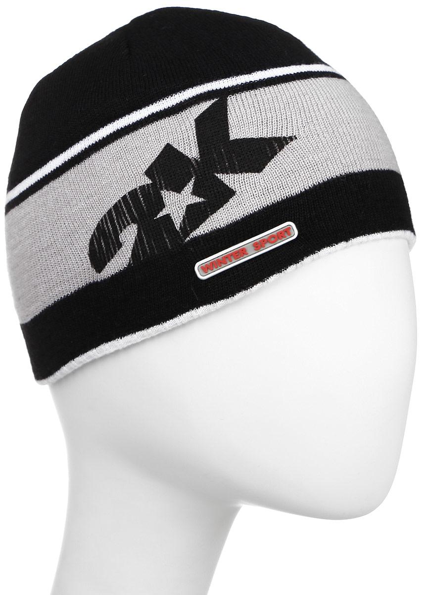 124024_black/green/silverСтильная вязаная шапка 2K Sport Nordic выполнена из высококачественного акрила. Шапка оформлена контрастными полосками, фирменным логотипом и декоративной нашивкой. Низ модели связан резинкой. Уважаемые клиенты! Размер, доступный для заказа, является обхватом головы.