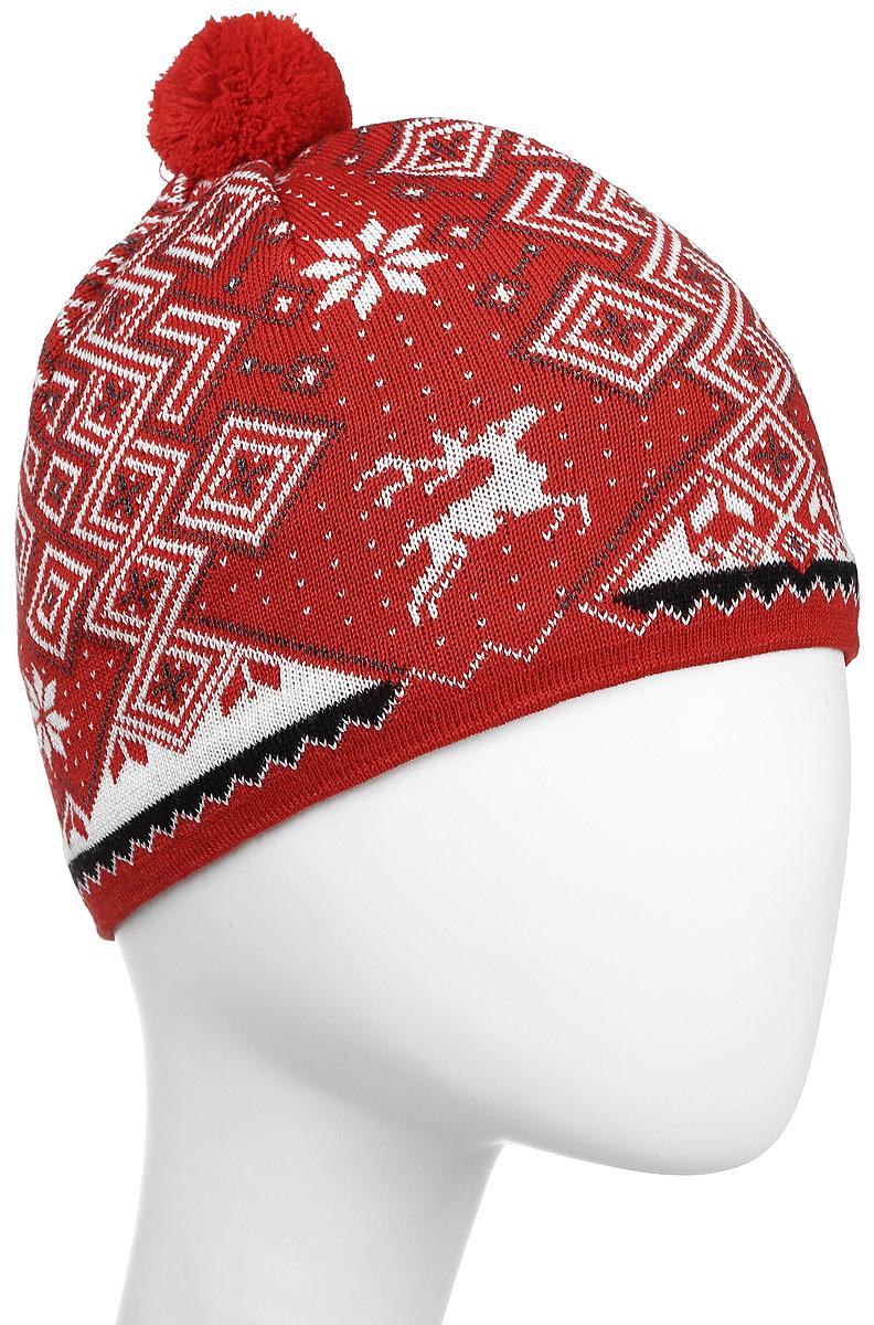ШапкаA58_104Теплая шапка с маленьким помпоном. Для лучшего сохранения тепла с внутренней стороны повязка, выполненная из нитей Thermolite.