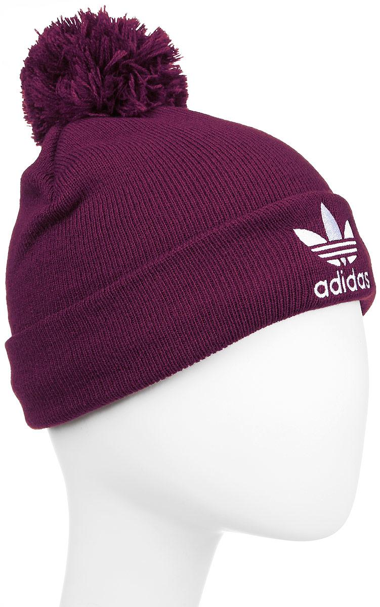 ШапкаAY9059Стильная вязаная шапка adidas Originals Pom Pom Fleece дополнит ваш наряд и не позволит вам замерзнуть в прохладное время года. Шапка выполнена из высококачественного полиакрила с флисовой подкладкой. Модель оформлена пушистым помпоном и отворотом, декорированным вышитым логотипом и названием бренда. Уважаемые клиенты! Размер, доступный для заказа, является обхватом головы.