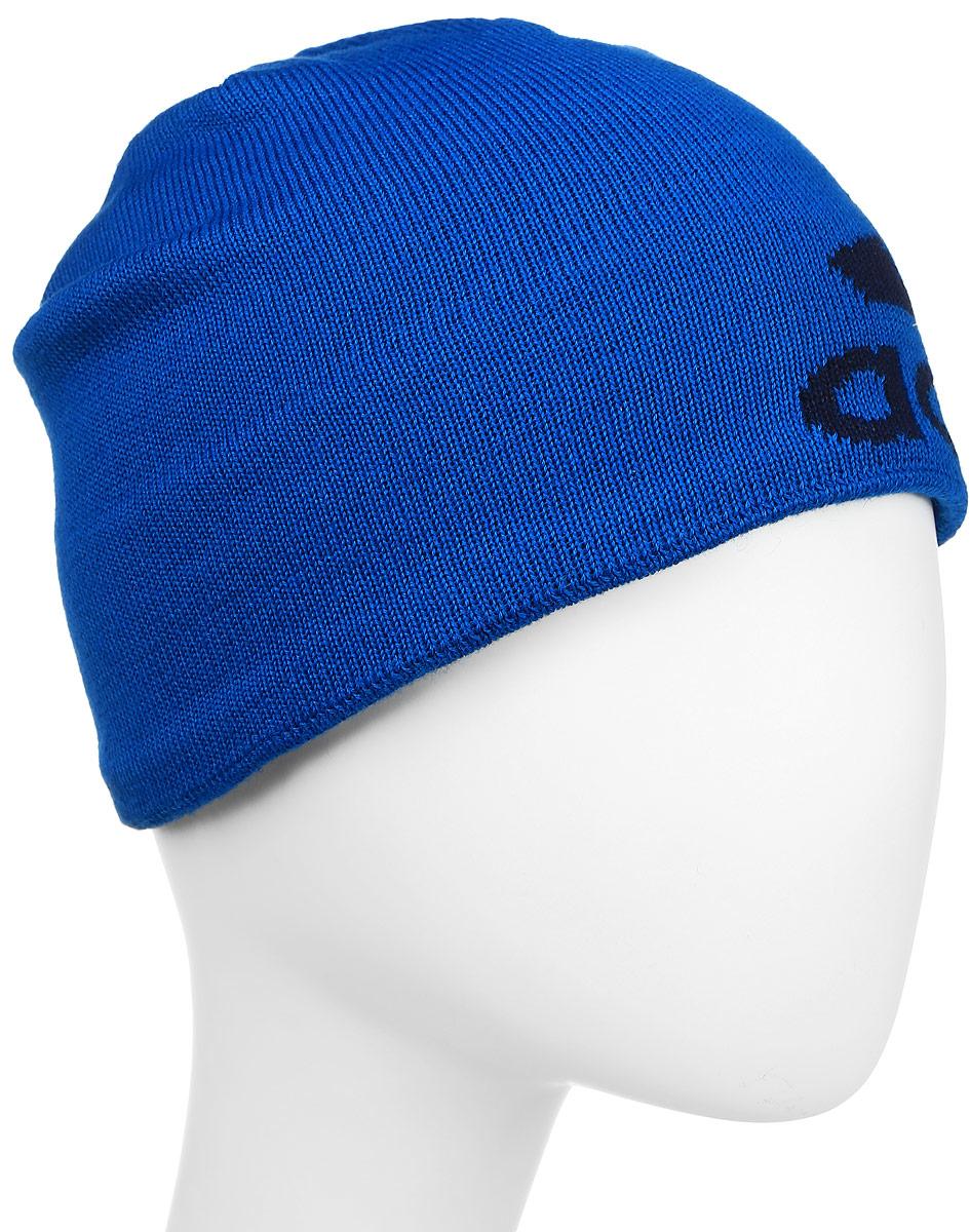 S94127Шапка Adidas Knit Logo Bean с мягкой флисовой подкладкой надежно сохраняет тепло, эффективно отводя излишки влаги. Сбоку модель оформлена логотипом adidas. Дышащая технология climawarm сохраняет максимум естественного тепла тела даже при отрицательной температуре.