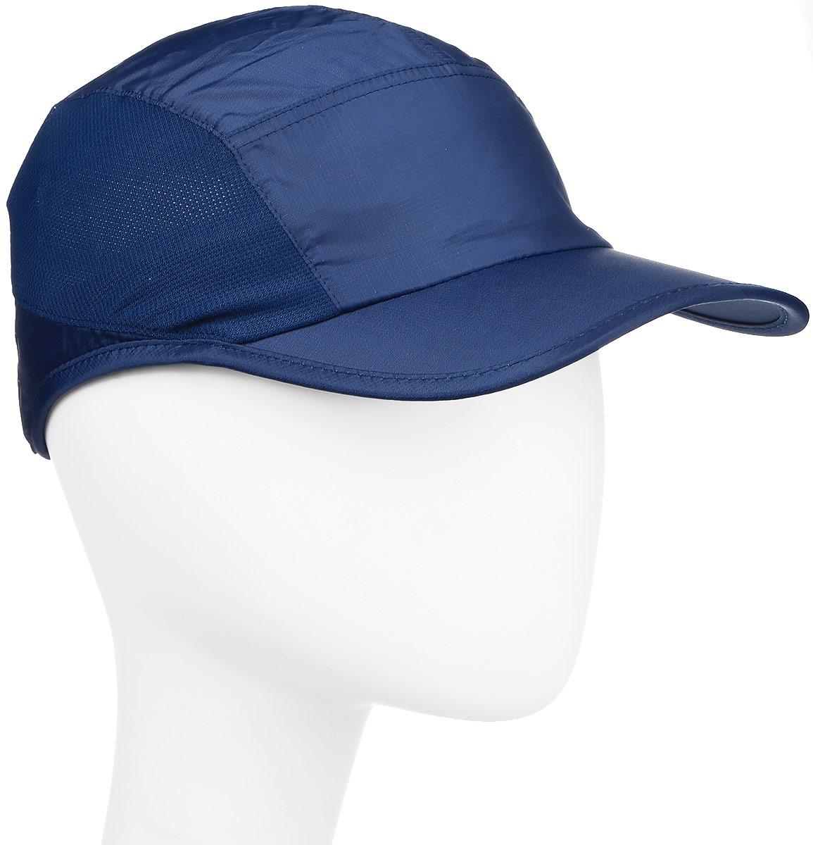 Бейсболка132059-0823Стильная женская бейсболка Asics Performance Cap выполнена из полиэстера. Такая модель отлично защитит ваши глаза от солнца. Сетчатые вставки и дышащий материал предохраняют голову от перегрева. Бейсболка оформлена фирменным логотипом Asics из светоотражающего материала. Сзади изделие регулируется при помощи карабина. Такая бейсболка станет отличным аксессуаром для занятий спортом и активного отдыха.