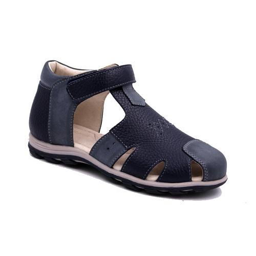 Сандалии11485-5Сандалии от Зебра выполнены из натуральной кожи. Внутренняя поверхность и стелька из натуральной кожи комфортны при ходьбе. Стелька дополнена супинатором, который обеспечивает правильное положение ноги ребенка при ходьбе и предотвращает плоскостопие. Ремешок с застежкой-липучкой позволяет прочно зафиксировать ножку ребенка.