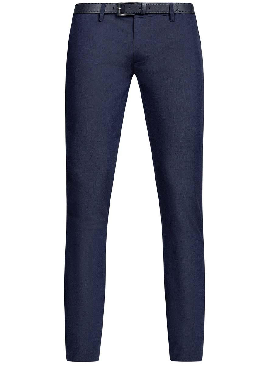 Брюки2L210189M/46272N/7900NМужские брюки oodji Lab выполнены из высококачественного материала. Классическая модель стандартной посадки застегивается на пуговицу в поясе и ширинку на застежке-молнии. Пояс имеет шлевки для ремня. Спереди брюки дополнены втачными карманами, сзади - прорезными.